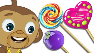 Mango's Treat Time: Colorful Lollipops Are All He Wants! | Hooplakidz