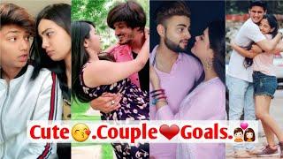 """BEST """"COUPLE & RELATIONSHIP GOALS""""😘❤   BF GF GOALS   CUTE COUPLES MUSICALLY   TIK TOK COUPLEGOALS💑"""