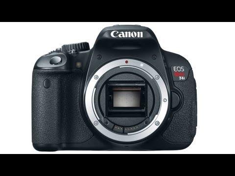 Canon EOS T4i (650D) Announced
