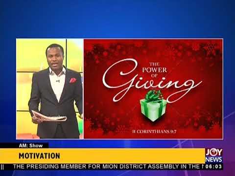 AM Show Intro on JoyNews (14-5-18)