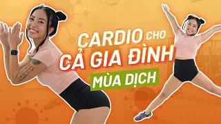 CARDIO LISS tại nhà MÙA COVID (siêu dễ, trai, gái, trẻ em cùng tập) | 128 calories | Workout #179