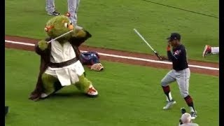 MLB Funnest Mascots - Orbit