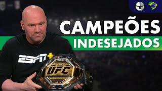 10 Lutadores que Dana White Nunca Quis Como Campeões do UFC