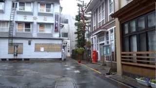 風雨の肘折温泉ぶら~り撮影DSC-HX30V