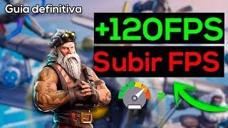 Cómo Aumentar FPS en Fortnite +140FPS + Disminuir PING | Temporada 7 | PC de BAJOS RECURSOS 300%😲✔️