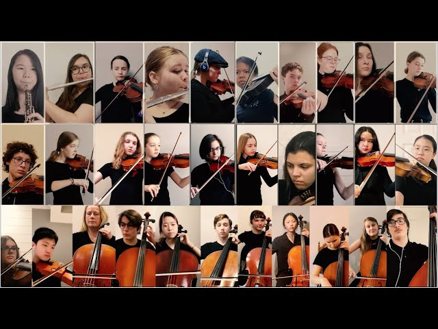 Youth Concert Orchestra – Virtual Performance of Bach's Badinerie