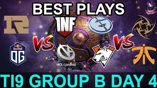 TI9 HIGHLIGHTS Group B DAY 4 PART 2 (The International 9) Dota 2 by Time 2 Dota #dota2 #ti9
