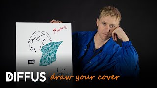 "Jonny Pierce Of The Drums Draws His ""Brutalism"" Album Cover 