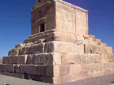 The Tomb of Great King Cyrus Pasargadae