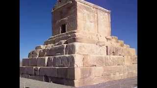 preview picture of video 'The Tomb of Great King Cyrus  Pasargadae Fars Iran کوروش بزرگ'