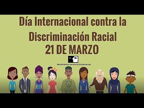 Día Internacional de la Eliminación de la Discriminación Racial 21M