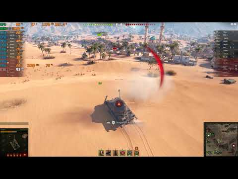 World Of Tanks Ryzen 7 2700X/ RX 580 4GB Benchmark