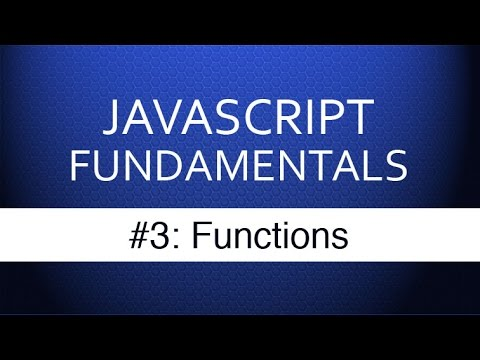 Javascript Tutorial For Beginners – #3 Javascript Functions Tutorial