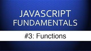 Download Youtube: Javascript Tutorial For Beginners - #3 Javascript Functions Tutorial