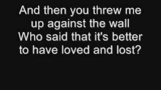 Boys Like Girls - Up Against The Wall Lyrics