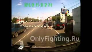 Драка на дороге в Челябинске  Внимание на действия полиции