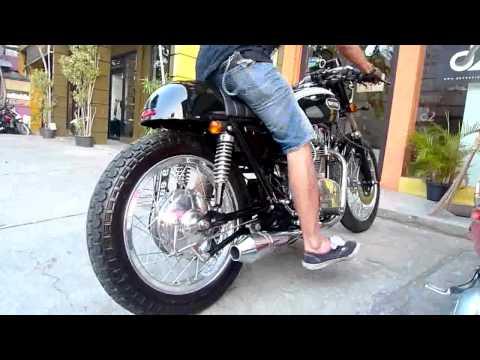 Lawless 1972 Yamaha XS650 Cafe Racer | Videos | custom-bike com