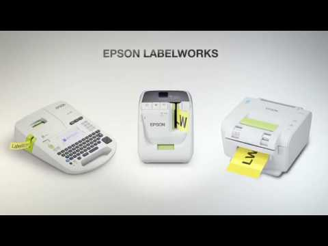 Epson LabelWorks LW-700 Label Printer  video thumbnail