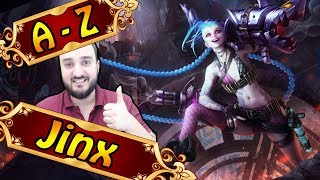 Jinx Adc Full League Of Legends Gameplay German Lets Play Lol
