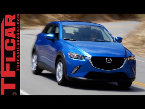 2016 Mazda CX-3 First Drive Review: New Zippy & Peppy AWD Mini-ute