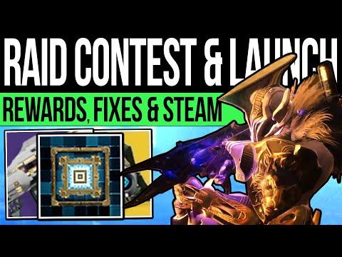 Destiny 2 | RAID DETAILS & EXCLUSIVE REWARDS! Steam DLC Launch, 980 Cap, Shadowkeep Fixes & More!