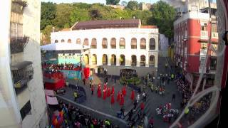 preview picture of video 'PARADE THROUGH MACAU, LATIN CITY 2014 (2)'