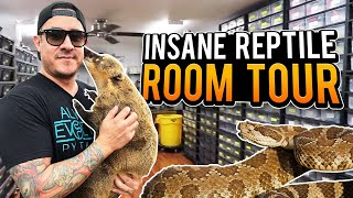 You Won't Believe This Reptile Room Tour