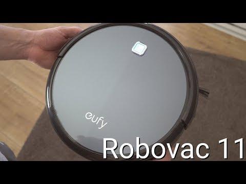 Test: Eufy Robovac 11 // Saugroboter für 200 Euro   deutsch