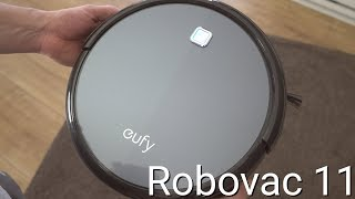 Test: Eufy Robovac 11 // Saugroboter für 200 Euro | deutsch