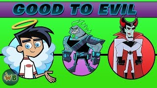 Danny Phantom Characters: Good to Evil