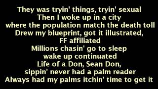 Big Sean - Guap (On Screen Lyrics)