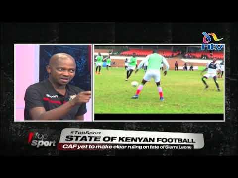 #TopSport: Nick Mwendwa on Harambee Stars AFCON 2019 chances
