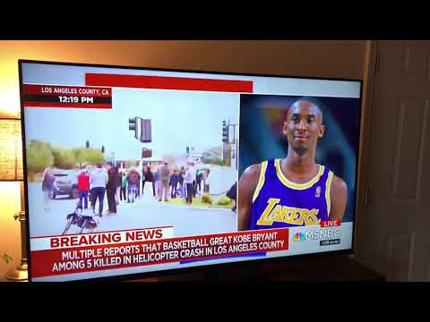 MSNBC Reporter accidentally says the N word while talking about Kobe Bryant