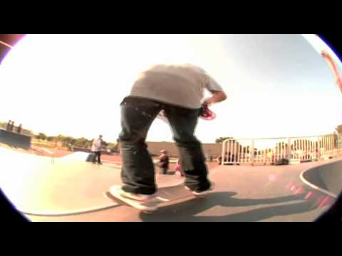 Character Skateboards Crash N' Thrash at Hammond Skatepark, IN