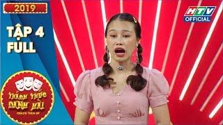 THÁCH THỨC DANH HÀI | Trường Giang tố Trấn Thành dính thính cô giáo | MÙA 6 - TẬP 4 | 30/10/2019