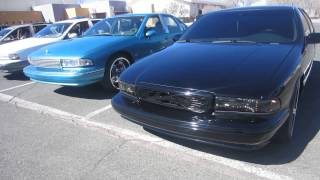 Caprice and Impala Meet In El Paso Tx  INC NATION