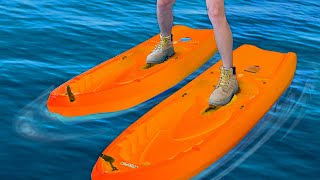 These Shoes can Walk on Water!