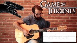Game Of Thrones Theme Gitar Dersi / Nasıl Çalınır?  - PART 1 Guitar Lesson & Tutorial