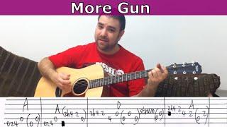 Tutorial: More Gun (Team Fortress 2 Engineer's Theme) - Guitar Lesson w/ TAB