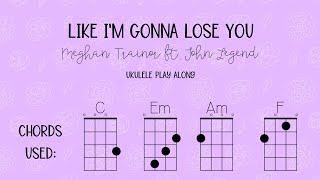 Like I'm Gonna Lose You - Meghan Trainor ft. John Legend Ukulele Play Along