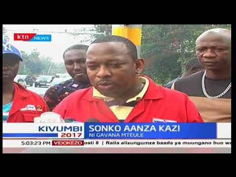 Gavana mteule wa Nairobi ajumuika na kundi lake la 'Sonko Rescue Team' kukusanya taka Nairobi