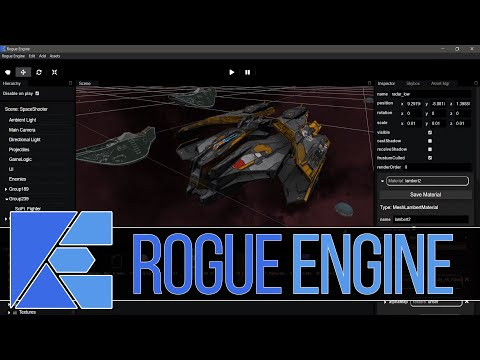 Rogue Engine  -- Powerful New Cross Platform 3D Game Engine