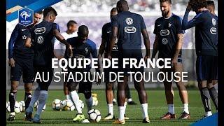 France-Luxembourg entrainement avant match