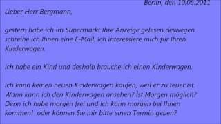 deutsche brief a1 a2 b1 prfung 47 - B1 Prufung Muster