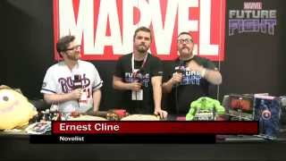 Ernie Cline Knows His Japanese Spiderman on Marvel LIVE! at San Diego Comic-Con 2015 868 views