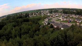 Quadcopter FPV through theTree Tops! (must watch) 720P