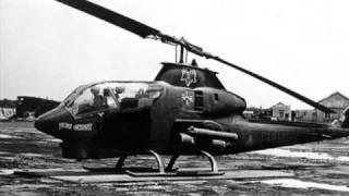 Vietnam War Huey's Blue Ghost Air Cav   A Tribute