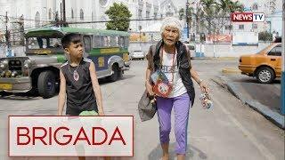 Brigada: 92-anyos na lola, patuloy na nagtatrabaho para maitaguyod ang mga apo