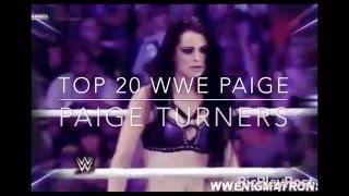 Top 20 WWE Paige - Paige Turners