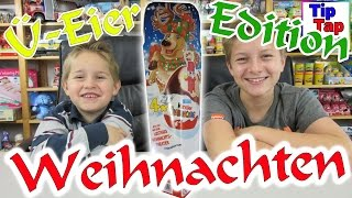 Kinder Überraschungs Eier Edition Weihnachten Serie Theater Spielzeug Unboxing Video Kinder Kanal